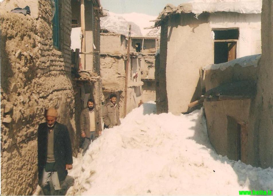 زمستان و رودمعجن در سالهای کمی دورتر
