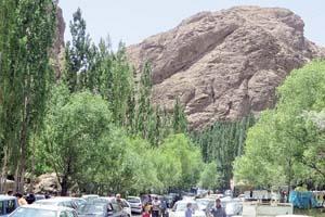 گزارش روزنامه خراسان از کمبود امکانات گردشگری در «رود معجن»
